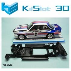 KILSLOT CHASIS 3D LINEAL BLACK OPEL ASCONA 400 REVELL