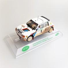 SRC-03603 Peugeot 205 T16 Evo 1 Rally Portugal 1985 efecto barro