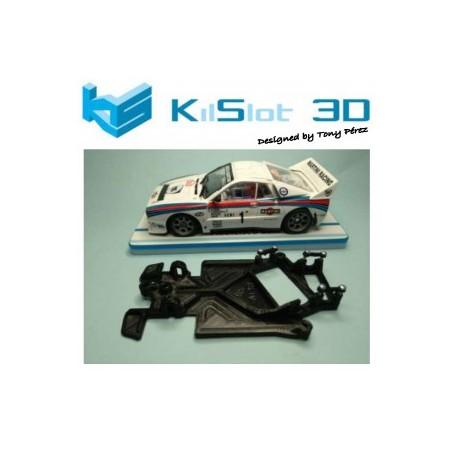 KILSLOT KS-AL18 CHASIS 3D ANGULAR RACE 2018 LANCIA 037 NINCO