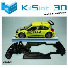 Kilslot KS-VM2I Chasis Race bancada Megane Trophy Ninco