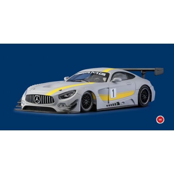 """NSR 0097AW Mercedes AMG Test Car """"Grey"""""""