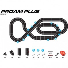 Ninco 20184 Circuito Proam Plus