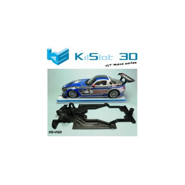 Kilslot KS-VG2I Chasis 3d RACE Mercedes SLS GT3 Scaleauto