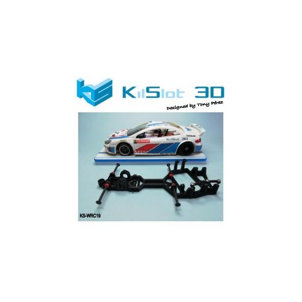 Kilslot KS-WRC19 Chasis 3d WRC versión 2019