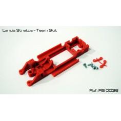 RED SLOT RS-0036 CHASIS 3D LANCIA STRATOS TEAM SLOT