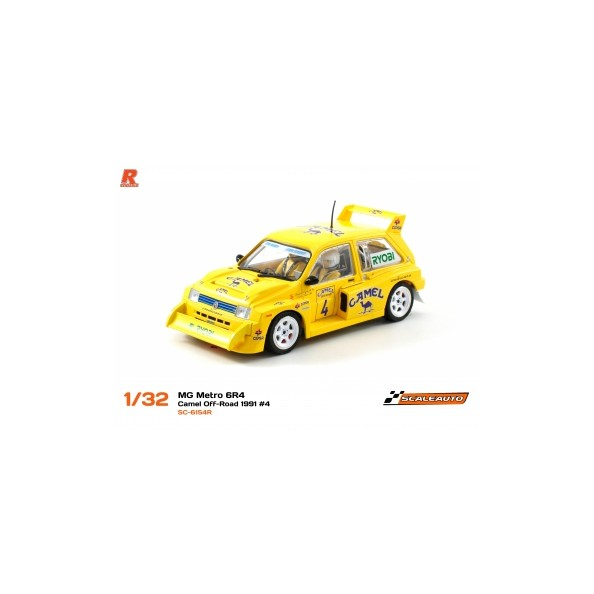 Scaleauto 6154R MG Metro 6R4 R-Version AW Camel Off Road 1991