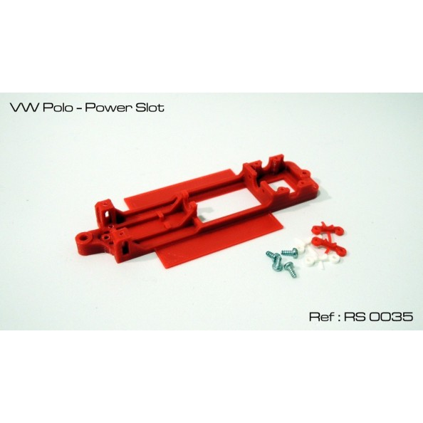 CHASIS 3D V2 POLO POWER SLOT RED SLOT