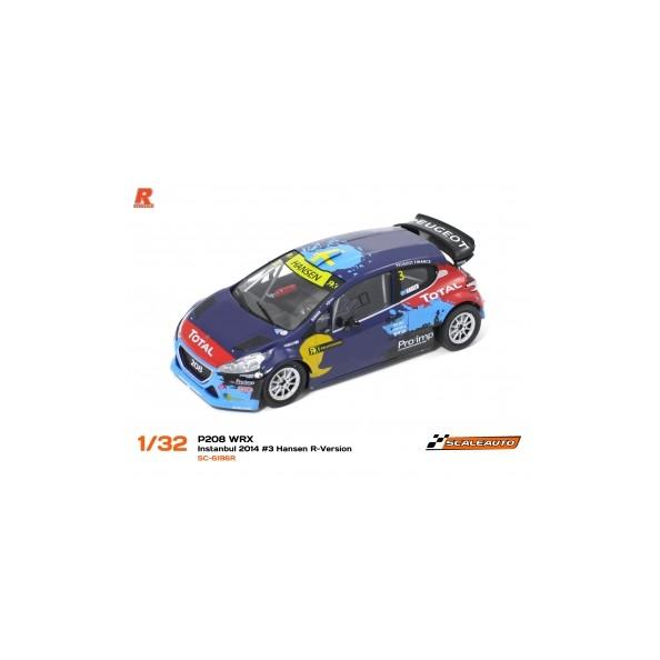 Scaleauto 6196R Peugeot 208 WRX...