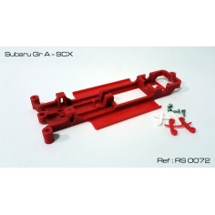 CHASIS 3D SUBARU GR A SCX RED SLOT