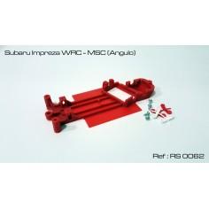 RED SLOT RS-0062 CHASIS 3D SUBARU IMPREZA WRC MSC (ANGULO)