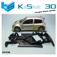 Kilslot AC98 Chasis 3d angular RACE Soft Renault Clio S1600 Ninco