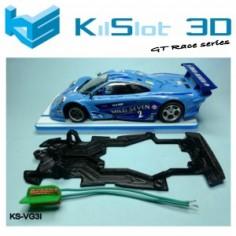 Kilslot KS-VL5I Chasis Race bancada Mclaren GTR Slot.it