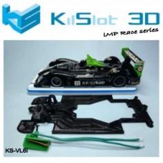 Kilslot KS-VL6I Chasis Race bancada Radikal LMP Scaleauto