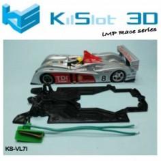 Kilslot KS-VL7I Chasis Race bancada Audi LMP10 Avant