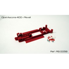 RED SLOT RS-0058 CHASIS 3D OPEL ASCONA 400 REVELL