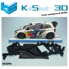 Kilslot DCP2A Chasis 3d angular DUAL COMP Polo WRC Superslot