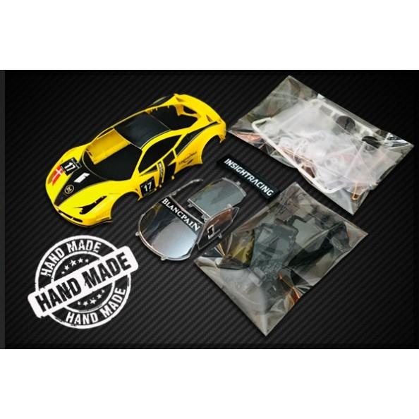 Black Arrow BACMKITX GT3 Italia KIT AW amarillo y negro n17