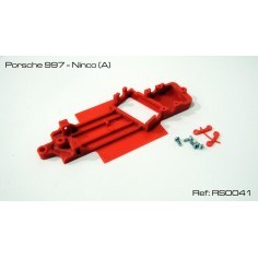 RED SLOT RS-0041 CHASIS 3D PORSCHE 997 NINCO (ANGULO)