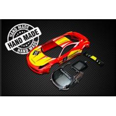 Black Arrow BABC02J Carrocería GT3 Italia roja amarilla n21