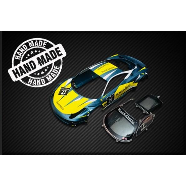 Black Arrow BABC02L Carrocería GT3 Italia azul amarilla n21