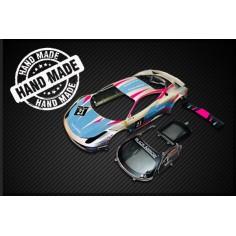 Black Arrow BABC02M Carrocería GT3 Italia azul plata n21