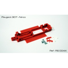 CHASIS 3D PEUGEOT 307 NINCO RED SLOT