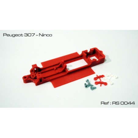 RED SLOT RS-0044 CHASIS 3D PEUGEOT 307 NINCO