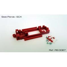 RED SLOT RS-0067 CHASIS 3D SEAT PANDA SCX