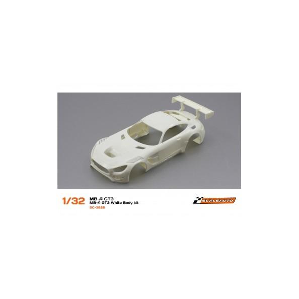 Scaleauto 3626 Carrocería blanca Mercedes  AMG GT3