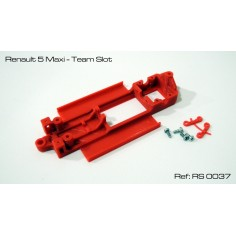 RED SLOT RS-0037 CHASIS 3D RENAULT 5 MAXI TEAM SLOT