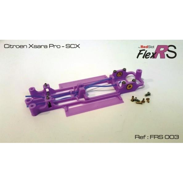 RED SLOT FRS-003 CHASIS 3D FLEX RS CITROEN XSARA PRO SCX