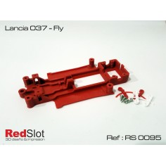 RED SLOT RS-0095 CHASIS 3D LANCIA 037 FLY