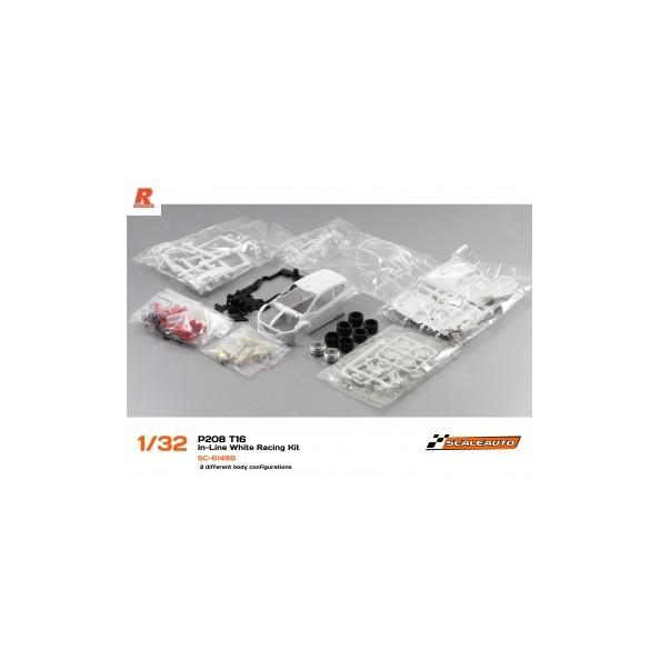 Scaleauto 6149B Peugeot T16 kit en blanco linea