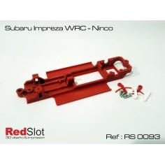 RED SLOT RS-0093 CHASIS 3D SUBARU IMPREZA WRC NINCO