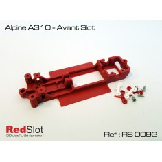 RED SLOT RS-0092 CHASIS 3D ALPINE A310 AVANT SLOT
