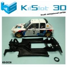 Kilslot DCC6 Chasis 3d DUAL COMP PEUGEOT 205 T16 SRC