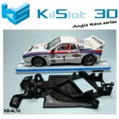 Kilslot KS-AL10 Chasis 3D angular RACE SOFT Lancia 037 NINCO