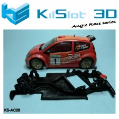 Kilslot AC28 Chasis 3D angular RACE SOFT Citroen C2 S1600 SCX