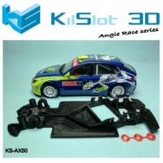 Kilslot AX50 Chasis 3D angular RACE SOFT Subaru N14 Avant Slot