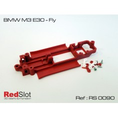 CHASIS 3D BMW ME E30 FLY RED SLOT