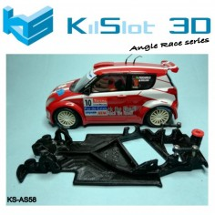 Kilslot AS58 Chasis 3d angular RACE SOFT Suzuki Swift S1600 SCX