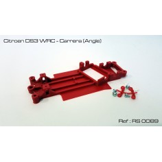 CHASIS 3D CITROEN DS3 WRC CARRERA (ANGLE) RED SLOT