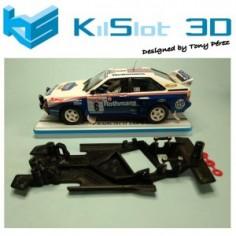 Kilslot KS-AC48 Chasis 3D angular RACE 2018 Audi Quattro Fly