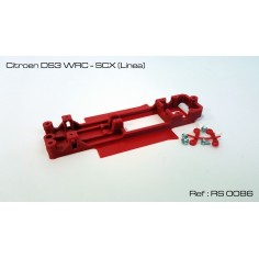 RED SLOT RS-0086 CHASIS 3D CITROEN DS3 WRC SCX