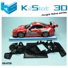Kilslot KS-GT20 Chasis 3d angular RACE SOFT Porsche 997 Ninco