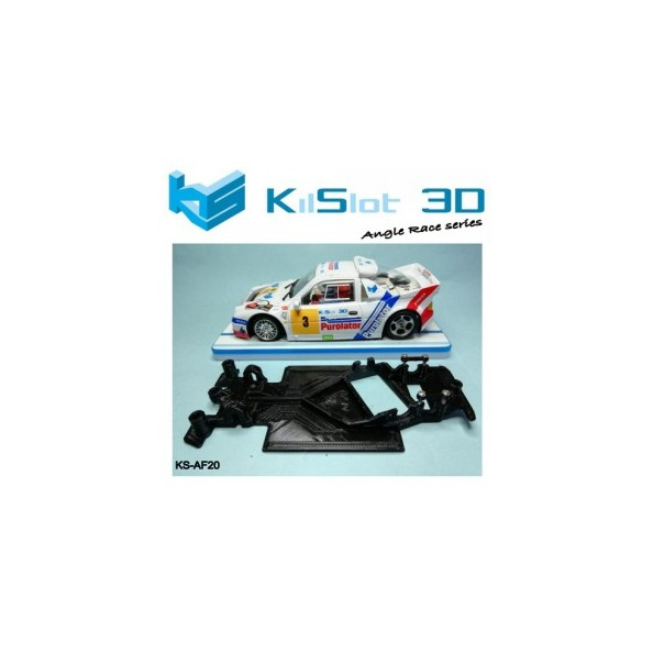 Kislot KS-AF20 chasis 3d angular RACE SOFT Ford RS200 Scaleauto