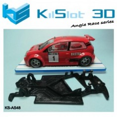 Kilslot KS-AS48 Chasis 3d angular RACE SOFT Polo S1600 Power Slot
