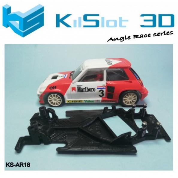 Kilslot KS-AR18 Chasis 3d angular RACE SOFT Renault 5 Turbo Spirit