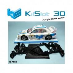 Kilslot KS-AN10 Chasis 3d angular RACE SOFT Subaru Scaleauto