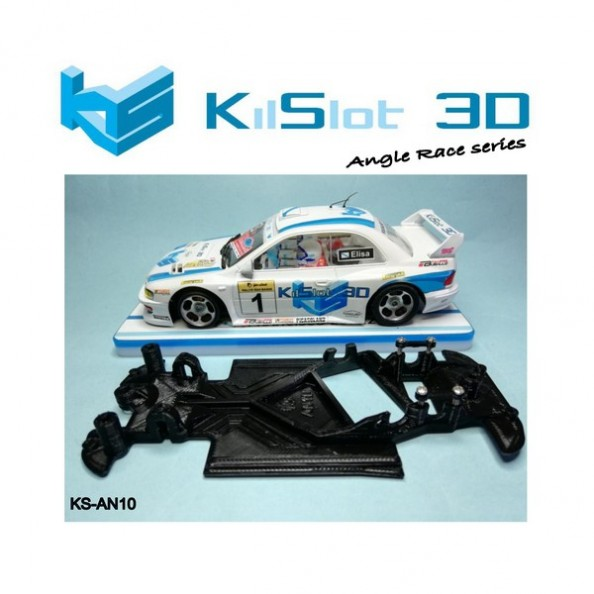 Kilslot KS-AN10 Chasis 3d angular RACE SOFT Subaru Scaleauto